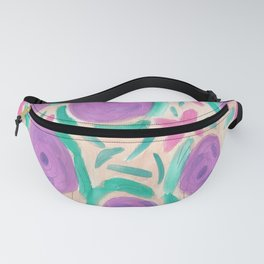 Beachy Floral Boho Print Fanny Pack