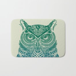 Warrior Owl Bath Mat