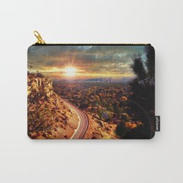 Billings Montana 2 Carry-All Pouch