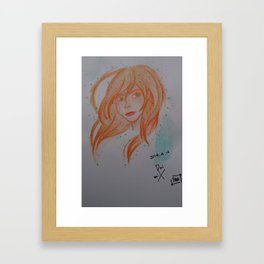 girl 2 Framed Art Print