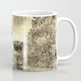 Allan Ramsey And Edinburgh Castle Vintage Coffee Mug