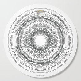Medallion Mandala Cutting Board