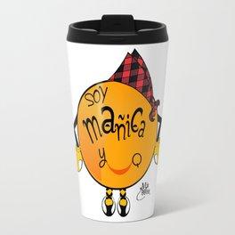 soy mañica y qué! Travel Mug