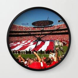 10th Anniversary of 9/11 at Arrowhead Stadium Wall Clock