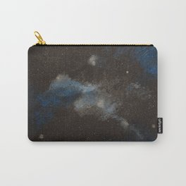 Blue and Silver Galaxy Carry-All Pouch