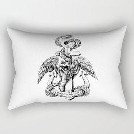 Quetzalcoatl Rectangular Pillow