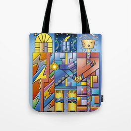 Keepers of the Cosmic Order Tote Bag