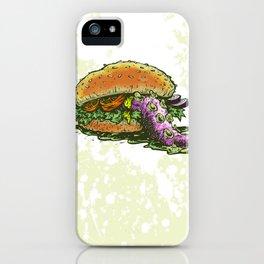 Octoburger iPhone Case