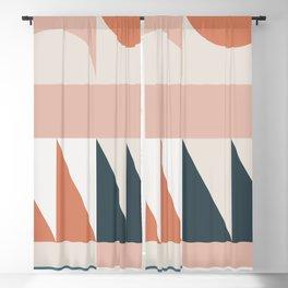 Cirque 04 Abstract Geometric Blackout Curtain