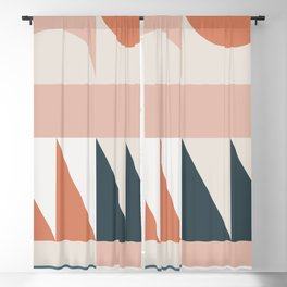 Cirque 04 Abstract Geometric Blackout Curtain