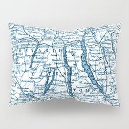 Vintage Finger Lakes Pillow Sham