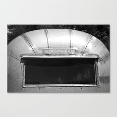 Stream Of Air Canvas Print