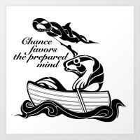 The prepared mind Art Print
