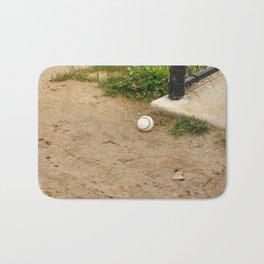 Lone Baseball Bath Mat