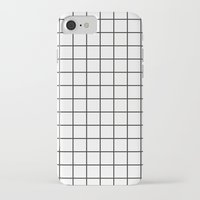 grid iPhone & iPod Cases featuring GRID by Anna Lindner