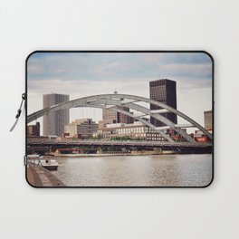 Frederick Douglass–Susan B. Anthony Memorial Bridge | Rochester NY Laptop Sleeve