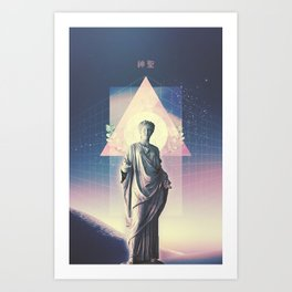 Spiritual Wave Art Print