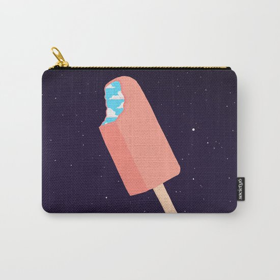Creamsicle To Another Dimension... (inverted) Carry-All Pouch