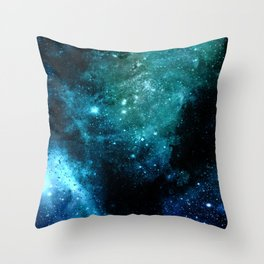 β Canum Venaticorum Throw Pillow