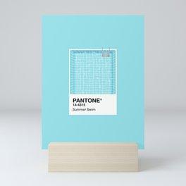 Pantone Series – Summer Swim Mini Art Print