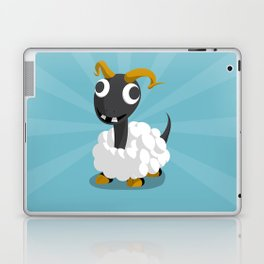 The Dino-zoo: Sheep-saurus Laptop & iPad Skin