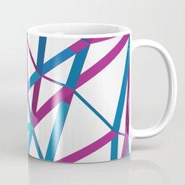 3D Futuristic GEO Lines Coffee Mug