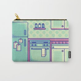 Pixel Kitchen Carry-All Pouch