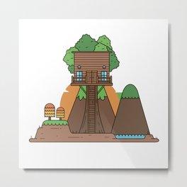 Tree Hose III Metal Print