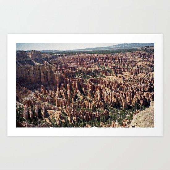 Bryce Canyon National Park Art Print