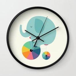 Beautiful Ride Wall Clock