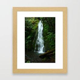 Madison Creek Falls Framed Art Print