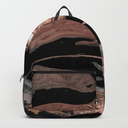 Black desert waters Backpack