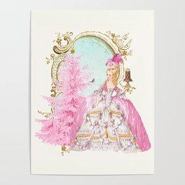 Marie Antoinette Christmas Poster