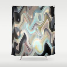 Luminescence Shower Curtain
