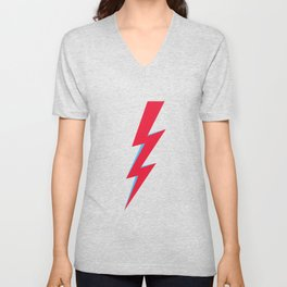 lightening Bolt Unisex V-Neck