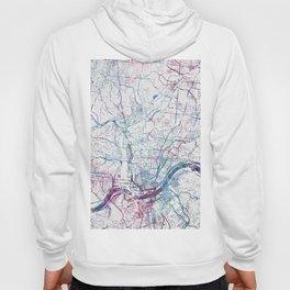 Cincinnati map Hoody