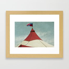 Big Top #2 Framed Art Print