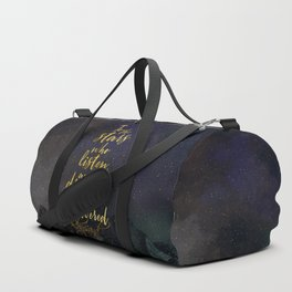 To the stars who listen...A Court of Mist and Fury (ACOMAF) Duffle Bag
