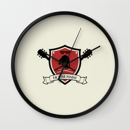 House Haim Wall Clock