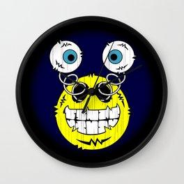 FREAKIN' Big Smile Emoticon! Wall Clock