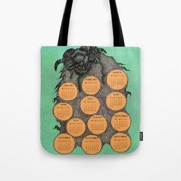 Sheep Calendar 2015 Tote Bag