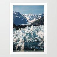 Glacier Bay - Alaska Art Print