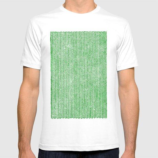 Stockinette Green T-shirt