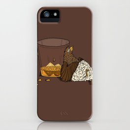 Thirsty Grouse - Colored! iPhone Case