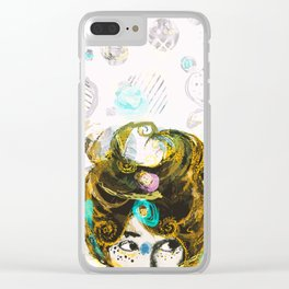 Olga The Starfighter Clear iPhone Case