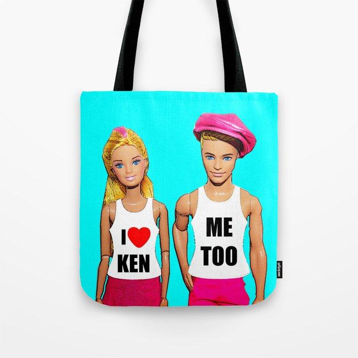 I Love Ken! Tote Bag