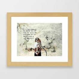 Mrs Belfort Framed Art Print