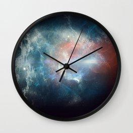 Total Solar Eclipse 2017 Galaxy Design Wall Clock