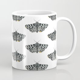 Kintsugi - A Graphite Drawing of a Moth by Brooke Figer Coffee Mug