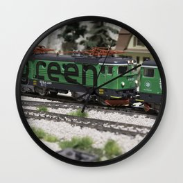 Green Cargo Wall Clock